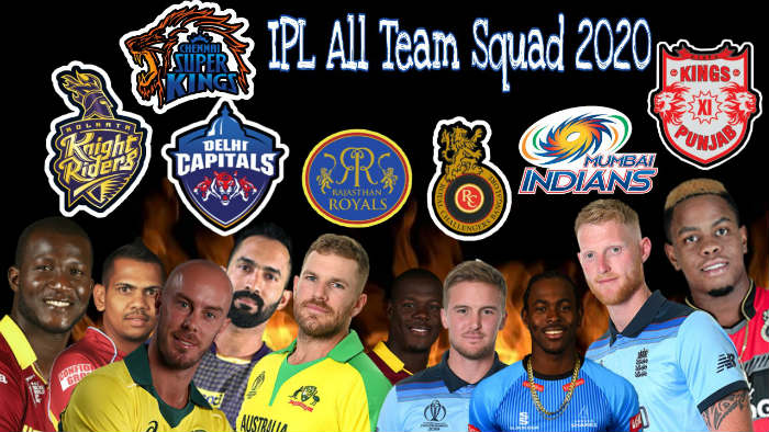 IPL 2020 All Teams Squads