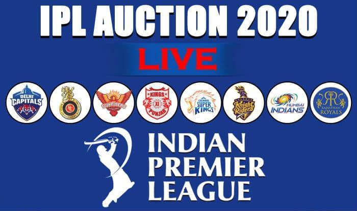IPL 2020 Live Auctions