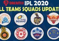 IPL Teams Squad 2020
