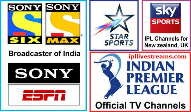 IPL 2020 Live Telecast & Broadcasting TV Channels Rights List