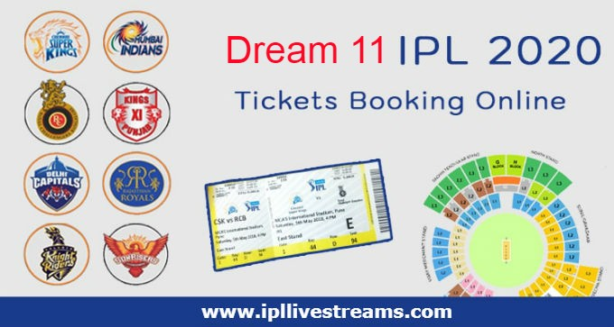 Where How to Book IPL T20 Tickets Online and Offline - Dream 11 2020