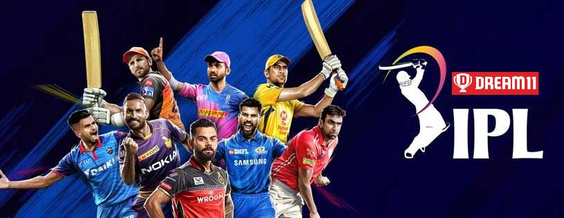 ipl 2020 teams - dream 11