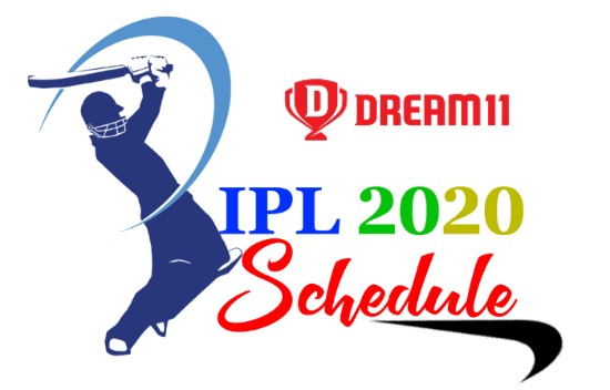 ipl match schedule 2020