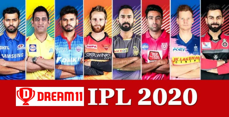 ipl teams 2020