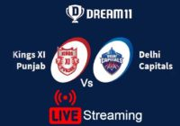 DC Vs KXIP Live Streaming