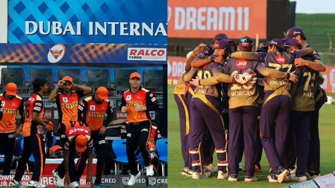 KKR vs SRH team squad